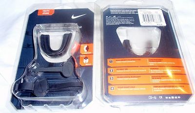 NIB Nike YOUTH Amped Mouth Guard With Strap, football hockey lacrosse