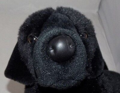 "FAO Schwarz Black Labrador Puppy Plush 18"" Boys/Girls 3+"
