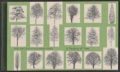 GB A Treasury of Trees 2000 Prestige Stamp Booklet MNH DX26