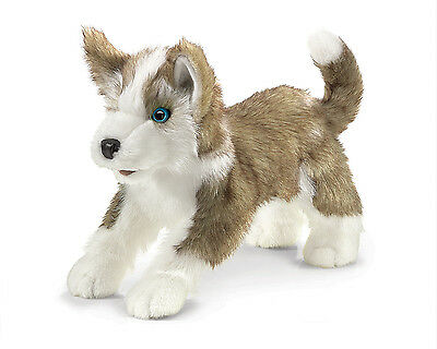Wolf Pup Hand Puppet w/ Moveble Mouth, Folkmanis MPN 2994, 3 & Up