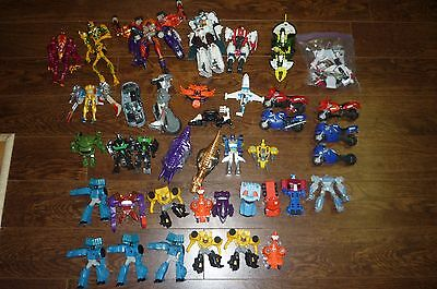 Transformers Huge Lot Of 47 Beast Wars And More Loose For Parts Original