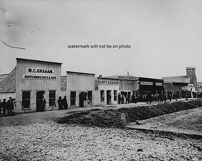 """Sutler's Row, Chattanooga, Tennessee 8""""x 10"""" Civil War Photo Picture #87"""
