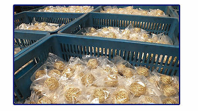 Mold Cleaning Tool Brass Cleaning Wire Sponge Ball 50pcs / Lot