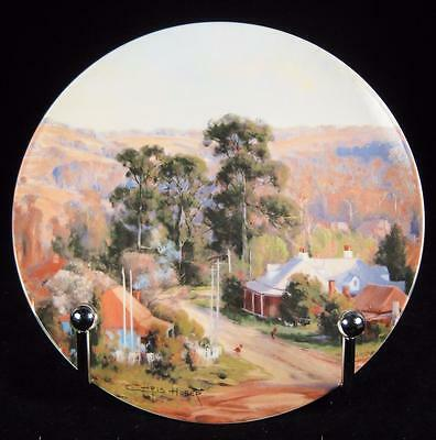 Bendigo Pottery Heritage Towns 'Berrima' by Chris Huber Collector Plate