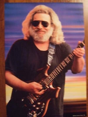 Jerry Garcia Grateful Dead  In-Store Promo Poster