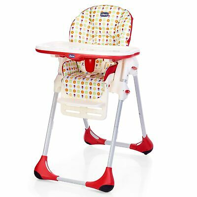 Chicco Baby / Child Adjustable & Foldable Polly Easy Highchair