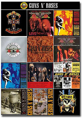"Guns N' Roses Covers Album Fridge Toolbox Magnet Size 2.5"" x 3.5"""