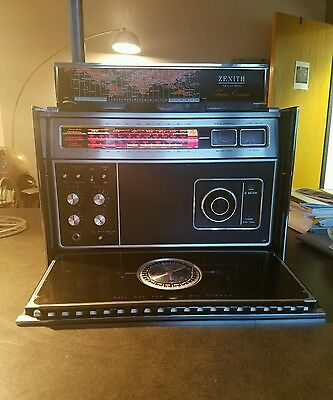 Zenith Transoceanic R7000 Vintage Multiband Shortwave Radio Collectible