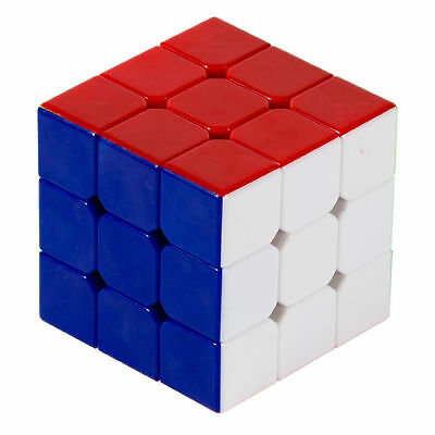 Boys Magic Cube Turns Quicker Colorful Professional Speed Rubik's 3X3X3 Puzzle