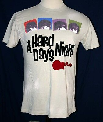 Beatles A Hard Days Night by Dragonfly Hard Rock Cafe T Shirt Men's Size Large