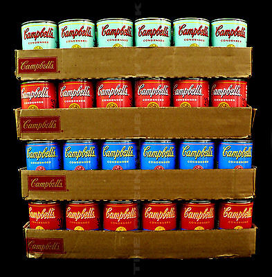 Any Warhol / Campbell Soup Can Collection / 4 Can Collection / Hand Selected