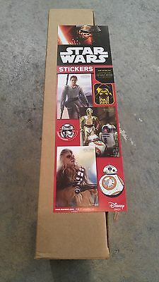 Star Wars stickers from vending machine