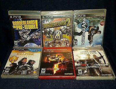Lot of 10 BRAND NEW PlayStation 3 PS3 Games! (LOT-L28)