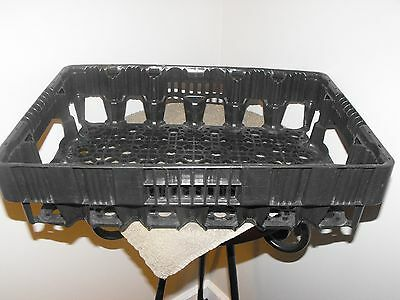 Coca Cola Coke Plastic Black Bottle Stacking Crate Carrier Tray Caddy