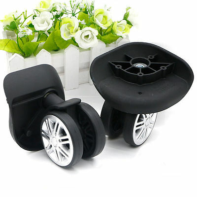 Replacement Luggage Swivel Wheel Suitcase 360 Spinner Repair Spare Wheels W074