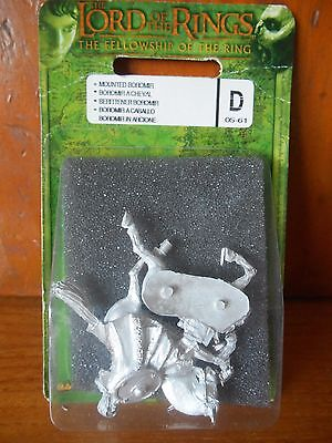 Boromir Mounted Blister RARE lotr sbg lord of the rings warhammer miniatures