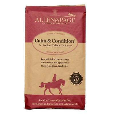 Allen & Page Calm and Condition Horse Feed 20 kg