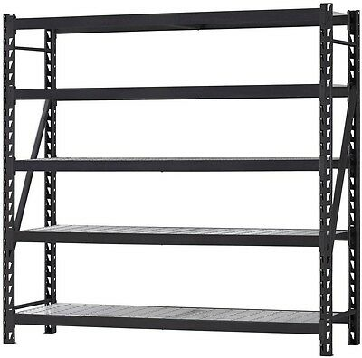New Husky Steel Garage Shelving 4 Tier Unit Storage Shelf Organizer Shelve Racks