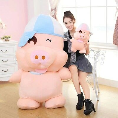 New Animal Giant Pink Pig Valentine's Day Makil Girlfriend 100cm/39.37'' Gift