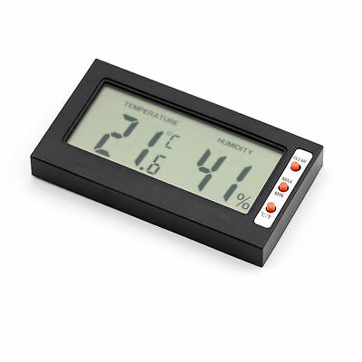 New Digital LCD Thermometer Hygrometer Temperature Humidity Meter Gauge Home Car