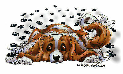 Decal Cavalier King Charles by Mike McCartney