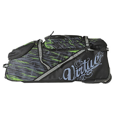 Virtue Paintball High Roller Gear Bag - Graphic Lime