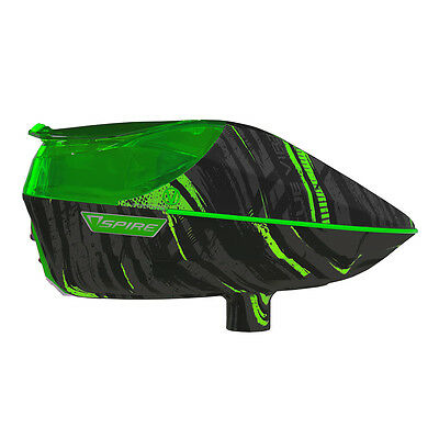 Virtue Spire 200 Electronic Paintball Loader - Graphic Lime