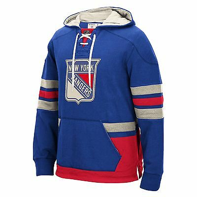 Youths Large New York Rangers CCM Pullover Hoodie EB74