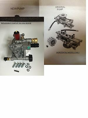New PRESSURE WASHER PUMP Replaces XC2600 XR2625 XR2600 XR2500 EXCELL DEVILBISS*
