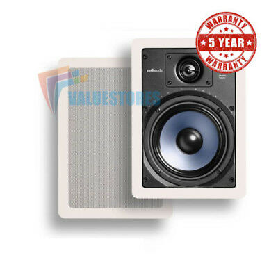 Polk Audio RC65i Mid-Sized Audiophile In-Wall Speaker with 6 1/2 inch drive PAIR
