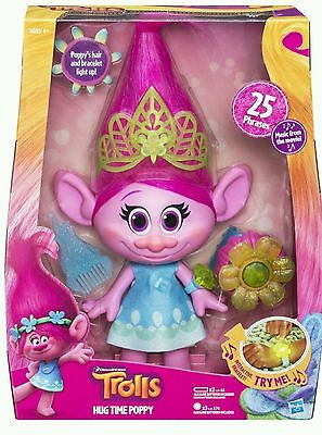 Dreamworks Trolls Movie - Hug Time Feature Poppy - Brand New Boxed Bargain