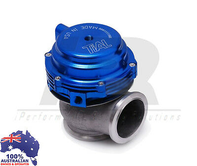 44MM V-BAND EXTERNAL WASTEGATE BLUE TIAL STYLE MV-R Water/Air Cooled