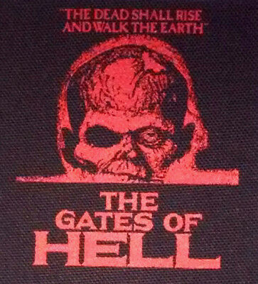 The Gates of Hell PATCH canvas HORROR - Lucio Fulci Gore City of the Living Dead
