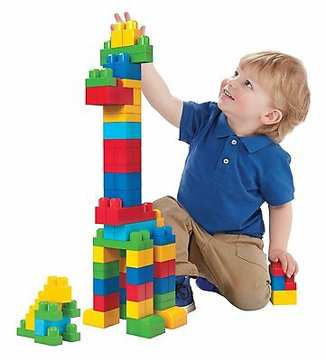 Benefits of Building Blocks for Kids, 194 PCS MULTIPLE COLORS, LARGE SIZE