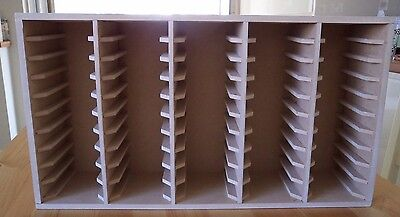 Hand Crafted Storage Unit For 50 Stampin Up Ink Pads