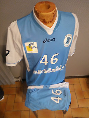 Ensemble Maillot+Short Aasics Handball Creteil N°46