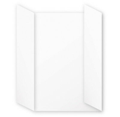 "Cartes triptyques  110x155 mm ""Pollen"" - Blanc"