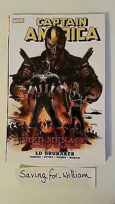 Captain America: Red Menace Ultimate Collection by Ed Brubaker (Paperback, 2011)