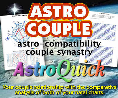 Astroquick Personalized Astrology Natal Karmic Birth Chart Reading