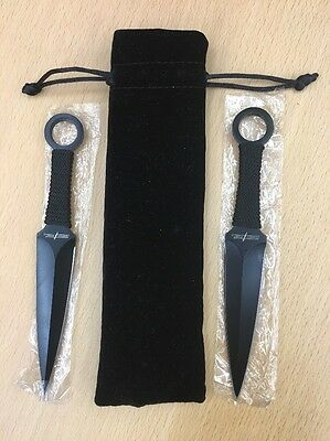 BAM! Box Exclusive Legends Collectors Throwing Knives / Letter Openers Set Of 2