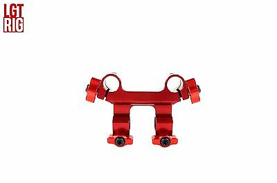 LGTrig 4Way 90 Degree Clamp red for 15mm Rod Rails Support System Shoulder Rig