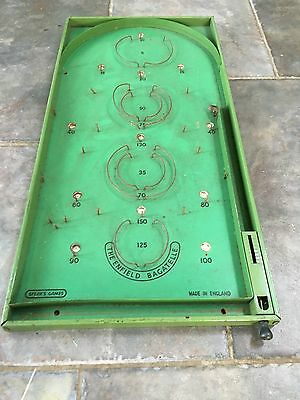 Old Vintage The Enfield Bagatelle Game By Spears Games Made In England