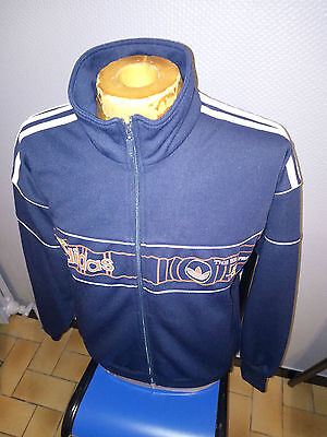 Ancienne Veste Jacket Adidas Vintage Annees 90 Sweat Zippe Survetement