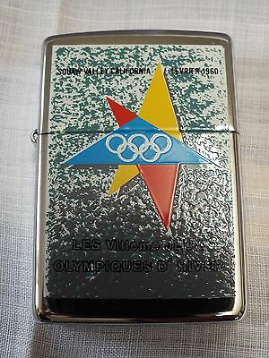 Vintage  Zippo Lighter Olympic Games Collection 1996 Squaw Valley 1960 Unused