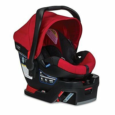 Britax B-Safe 35 Infant Car Seat Red Very Good