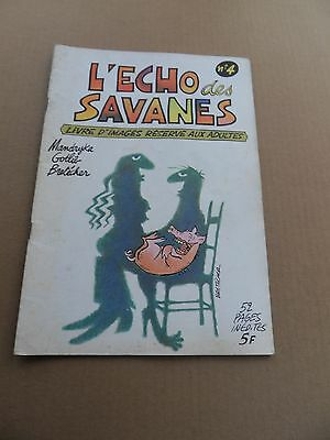 L'Echo Des Savanes 4 . Editions Du Fromage 1973 -     BE / TBE