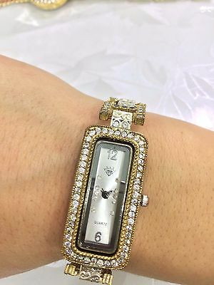 Good! Turkish Handmade Zircon Sterling Silver 925K And Bronze Watch