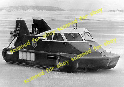 Photo - Saab 401 hovercraft, Stockholm, March 1964
