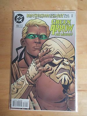 "Green Arrow (1987) # 135 ""brotherhood Of The Fist Part 5"" W/ Batman"