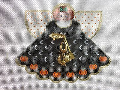 HALLOWEEN Angel & Charms hand painted Canvas by Painted Pony #921